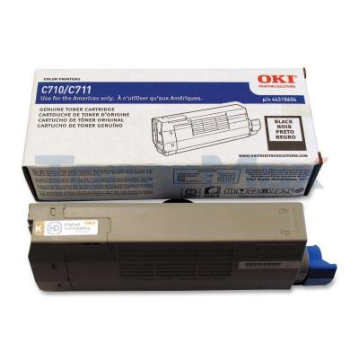 OKI C711 TONER CARTRIDGE BLACK
